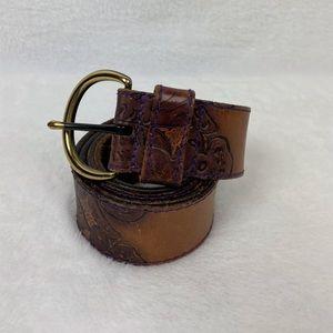 Express | Tooled Leather Belt